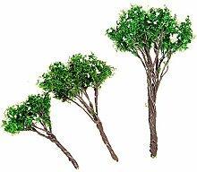 Bluelover Diy-Mikro Blüten Landschaftsbaum Topfpflanzen Pflanze Garten-Dekor-5 Cm