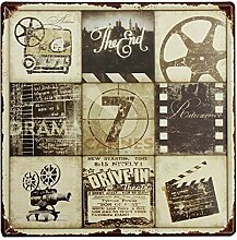 Bluelover Film Feature Tin Sign Vintage Metall Plaque Poster Bar Pub Home-Wand-Dekor