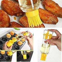 Bluelover Küche Bbq Bürsten Bakeware Werkzeuge Hochtemperaturbeständig Bei Öl Flasche Silikon Pinsel