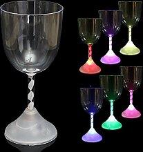 Bluelover Led-Drink Blinklicht Bunte Weinglas Cup Für Bar Party