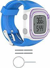 Bluelover Silikon Armband Band + Werkzeuge Für