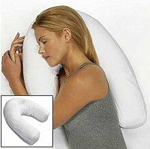 Bluelover U-Form Pp Baumwolle Weiße Kissen Seite