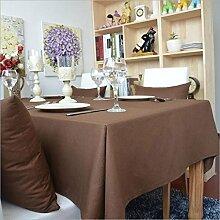 BLUELSS Baumwolle Tischtuch staubdicht Tischdecke