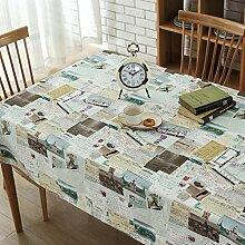 BLUELSS Bettwäsche Vintage Europäischen malerische Patchwork Muster Tischdecke Tischdecke Tischdecke manteles para Mesa 60 x 60 cm