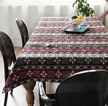 BLUELSS Ethnische Tischdecke/Kaffee Tischdecke