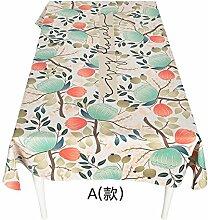 BLUELSS Garden Flower pattern Baumwolle und Leinen