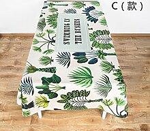 BLUELSS Grüne Pflanze design Baumwolle und Leinen