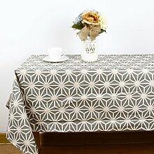 BLUELSS Mode Moderne Tischdecke geometrischen