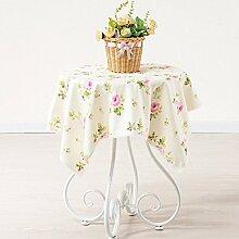 BLUELSS Tabelle Tuch 100% Baumwolle Spitze Tischdecke Hochzeit Rechteckige Tischdecke Tischdecken toalha de mesa manteles para mesaGreen 1110 x 110 cm.