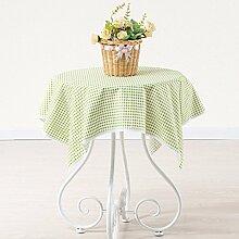 BLUELSS Tabelle Tuch 100% Baumwolle Spitze Tischdecke Hochzeit Rechteckige Tischdecke Tischdecken toalha de mesa manteles para mesaGreen 2160 x 160 cm