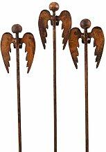 Blümelhuber Gartenstecker Engel Set 60cm Metall
