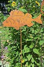Blümelhuber Gartenstecker Hecht Fisch aus Eisen