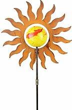 Blümelhuber Gartenstecker Sonne 163cm Metall Rost