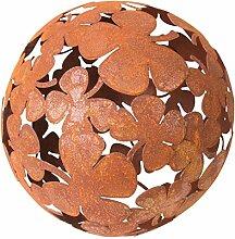 Bluemelhuber Kleeblatt Kugel Metall Rost