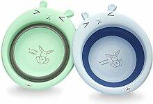 BlueSnail Faltbares Mehrzweck-Waschbecken für