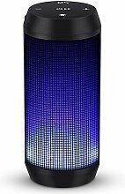 Bluetooth Lautsprecher Musikbox Tragbarer LED