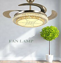 Bluetooth-Leuchter, Ventilator Lampe Esszimmer