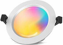 Bluetooth Mesh LED Einbaustrahler 1er Spot 15W LED