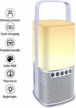 Bluetooth-Nachtlicht Drahtloser Lautsprecher,