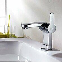 Bluewater GALA Waschtischarmatur GAL-BUN-010C Chrom , Designer Armatur Waschbecken , Waschtisch, Armaturen Bad, Badezimmer , Einhebel Waschtischarmatur , Einhebelmischer , Mischbatterie , Wasserhahn