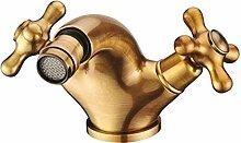 Bluewater Hochdruckarmatur ret-bb. 040Bidet Armatur für Toiletten–Old Gold