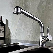 Bluewater RETRA Chrom Küchenarmatur mit Brause