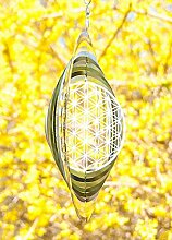 Blume des Lebens Mobile 25,4 cm - Windspiele Esoterik günstig kaufen online