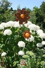 Blume -Emely- mit Glaskugel groß