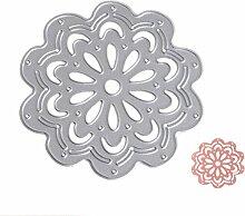 Blume Formen Schablonen DIY Scrapbooking Album