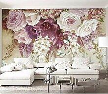 Blumen 3D Wandbild Tapete Für Schlafzimmer Tapete