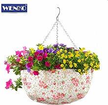 Blumen-Ampel ROSENDEKOR Hängeampel Pflanzenampel