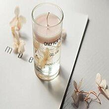 Blumen in Kerze MIni Duft Kerzen Tasse romantische