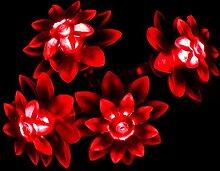 Blumen-LED-Lichterkette von JnDee,mit