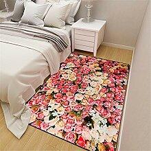Blumen Pflanzen Teppich Home Designer Teppich