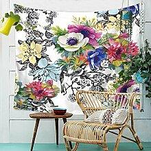 Blumen Pflanzen Wandteppich Natur Landschaft