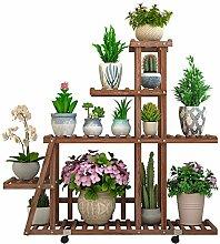 Blumen- / Pflanzenständer/Regal Holzständer