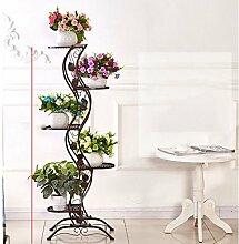 Blumen Regale Blumentreppe Blumen Regale , dekoratives Design, Garten/Terrasse,Pflanzentreppe Blumenbank ( Farbe : 3 )