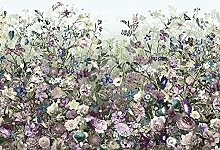 Blumen, Schlafzimmer, Romantik Vlies Fototapete -