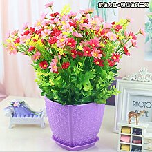 Blumen springen Ju LAN Emulation Flower Bonsai