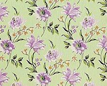 Blumen Tapete Vliestapete Landhaus Tapete EDEM