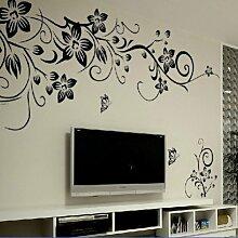 Blumen Wand Aufkleber Wand Mural Zuhause Decor Zimmer Decor Kids Wall sticker HG-0275