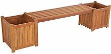 Blumenbank Holz