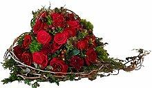 Blumengesteck Bestattung, Blumen zum Sterbetag