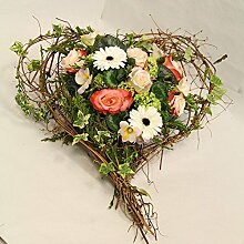 Blumengesteck Blütenherz Size 40 Euro