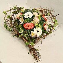 Blumengesteck Blütenherz Size 45 Euro