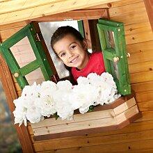Blumenkasten aus Holz ClearAmbient Farbe: Braun