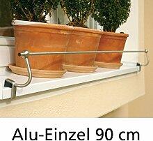 Blumenkasten-Halterung 90 cm, Edelstahl f.