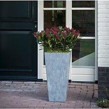 Blumenkübel Rodas Garten Living Farbe: Grau