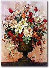 Blumenkunstdruck Moderne Kunst Blumenbild