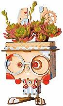 Blumenpot Set/DIY Wooden Mini